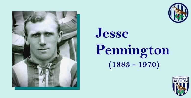 Jesse Pennington - West Brom Albion FC 1912